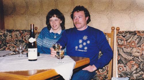 1980er Jahre im Weingut Kronenhof