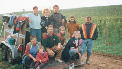 1990er Jahre im Weingut Kronenhof