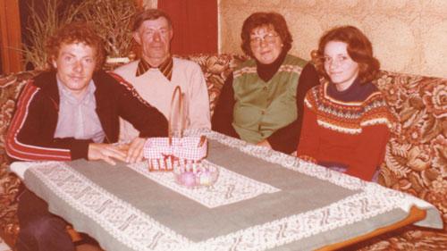 1970er Jahre im Weingut Kronenhof