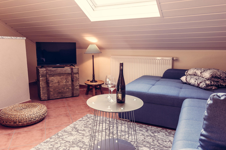 Appartement Kronenhof - Wohnzimmer