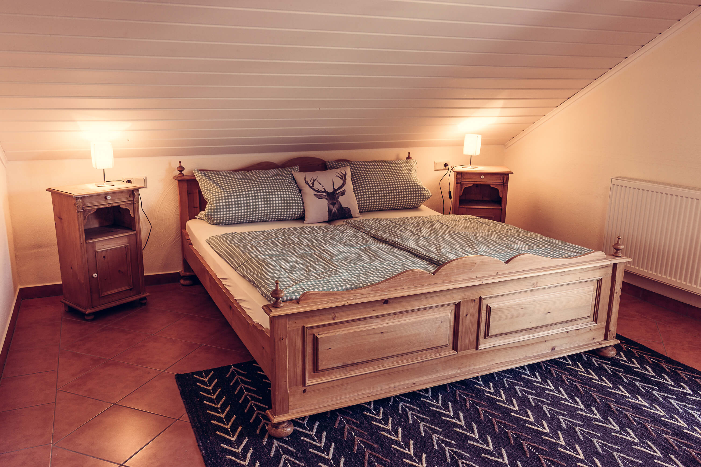 Appartement Kronenhof - Schlafzimmer 1